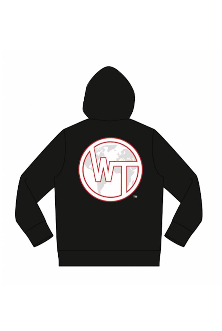 WT or No Team Hoodie (back)