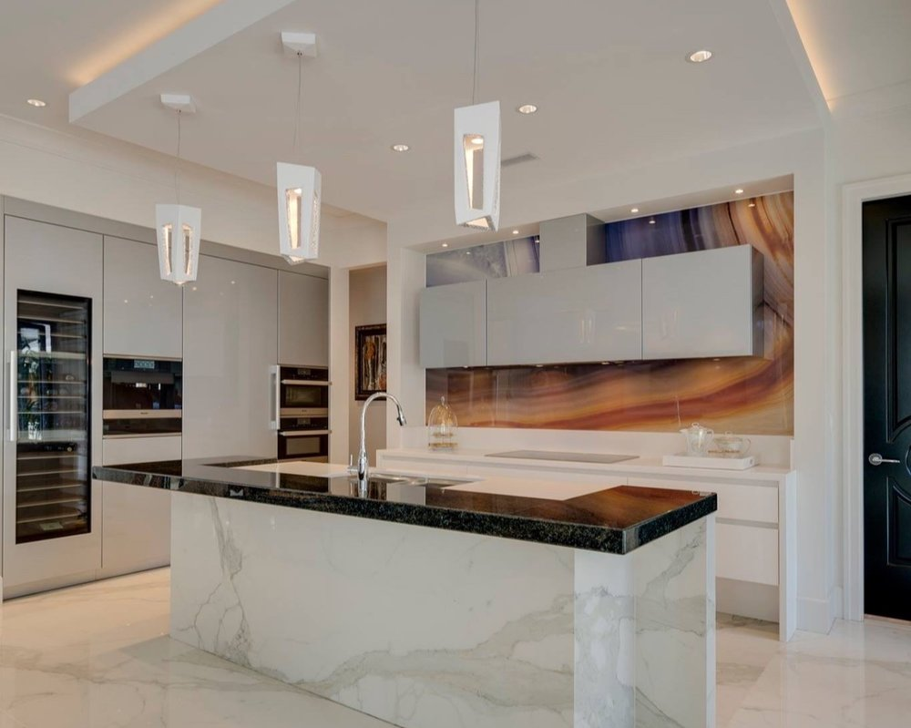 Morgan Creek - 2018 Terrazo, Tile, and Marble Association of Canada (TTMAC) Award winning hard surface installation.