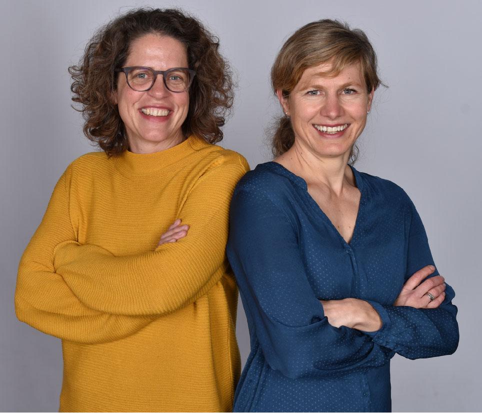 Nicole Krneta und Katharina Hewer