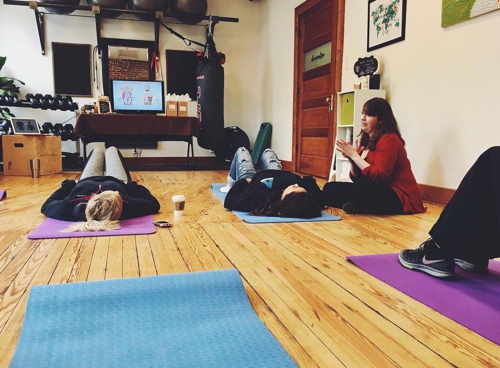 Pelvic Floor + Fitness Course