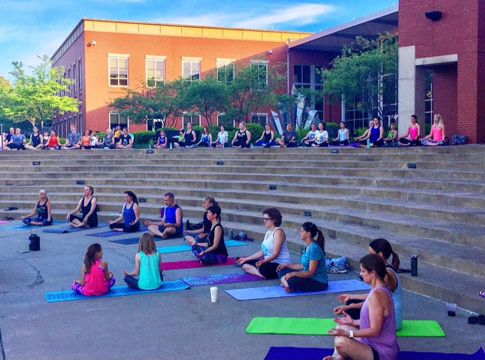 Yoga In The Streets with Downtown Lee's Summit