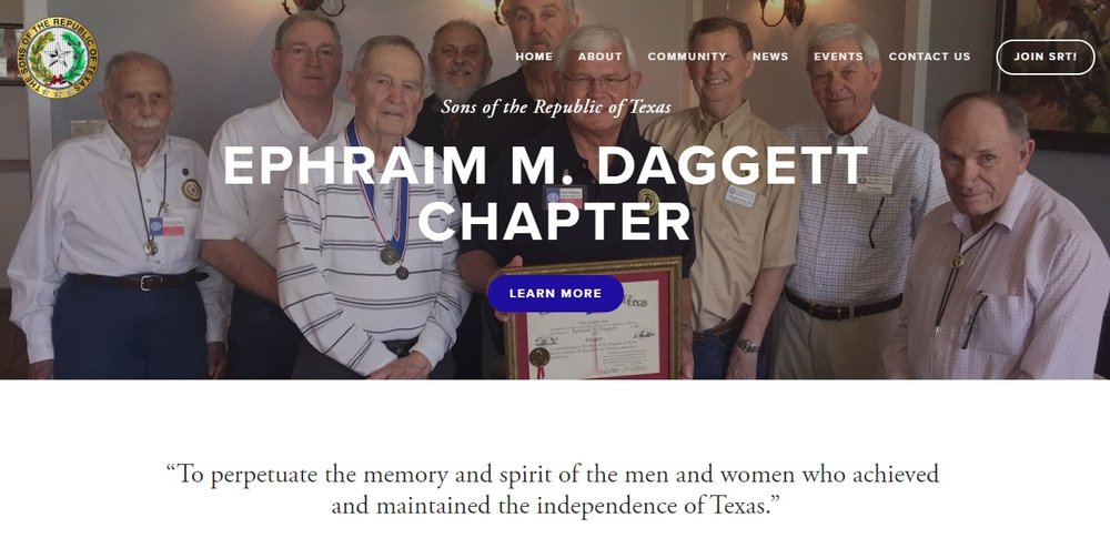 The Daggett Chapter website was redesigned by Willie Downs, the chapter's Webmaster. You can visit the new website  here , and please let Willie know if you have any feedback on ways to make the website better. If you are on Facebook, please be sure to follow our chapters official  page , and join our chapter's private  group .