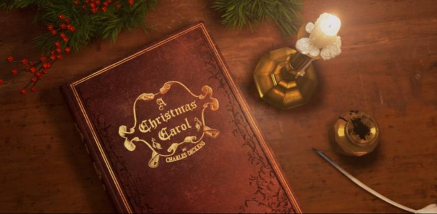 canción de navidad - La clásica y mágica historia de Charles Dickens sobre el espíritu navideño con su inolvidable personaje Ebenezer Scrooge. ¡Feliz Navidad!