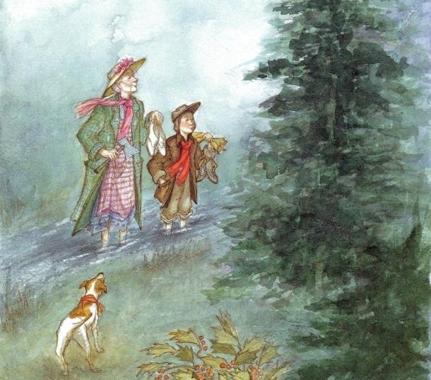 un recuerdo navideño - Esta es la maravillosa historia de Buddy, su anciana tío y su perrita Queenie sobre los olores, sabores, evocaciones y recuerdos de la navidad. Una historia para no perderse, sobre todo en esa época del año.