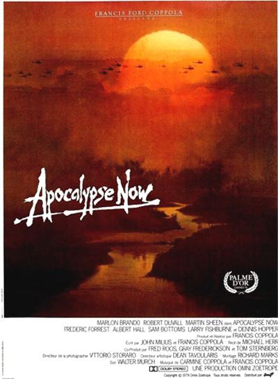 ¿Sabías que El corazón de las tinieblas tiene película? La película  Apocalypse Now (Apocalipsis ahora)  fue dirigida por F rancis Ford Cappola  y está basada en El corazón de las tinieblas.