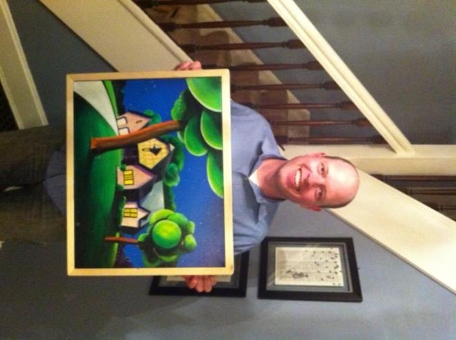 08 Matt and the Painting