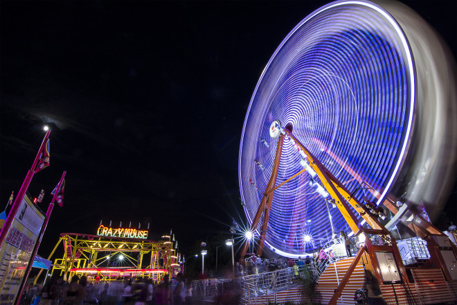 Crazy Mouse and Ferris Wheel