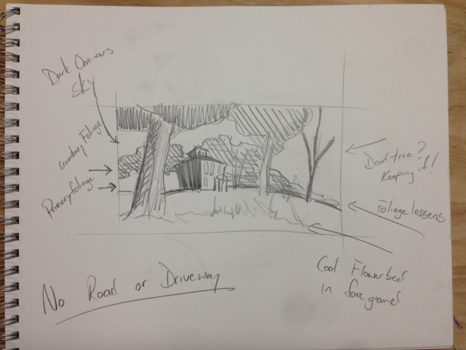 Initial Sketch - justin vining