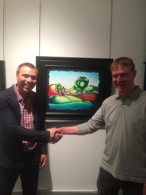 James Werner and Justin Vining Madron Gallery