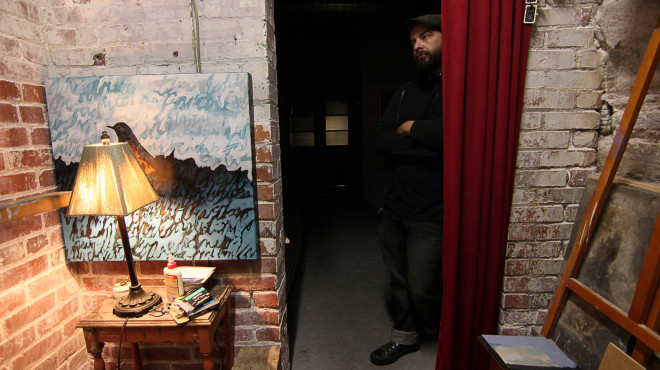 John McKee in studio 2