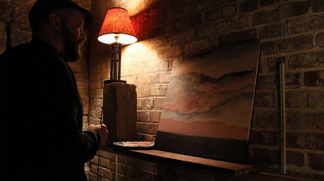 John McKee in studio 3