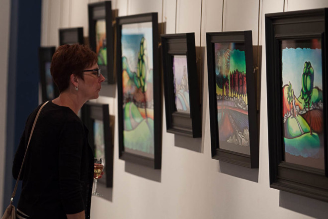 Justin Vining Madron Gallery Contemporary Landscapes exhibit