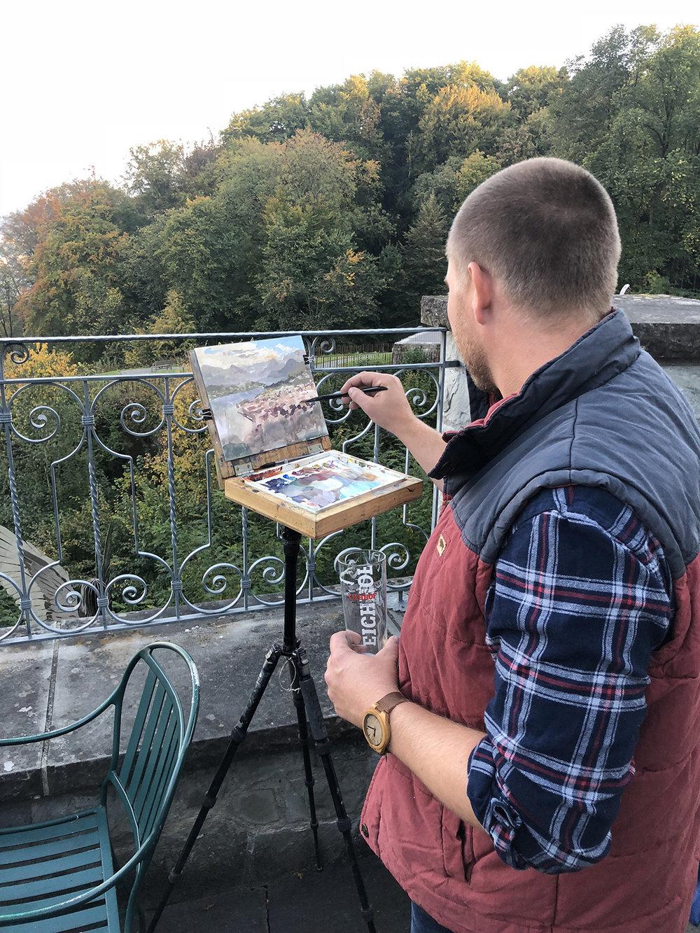 13 Painting at Hotel Gutsch.jpg