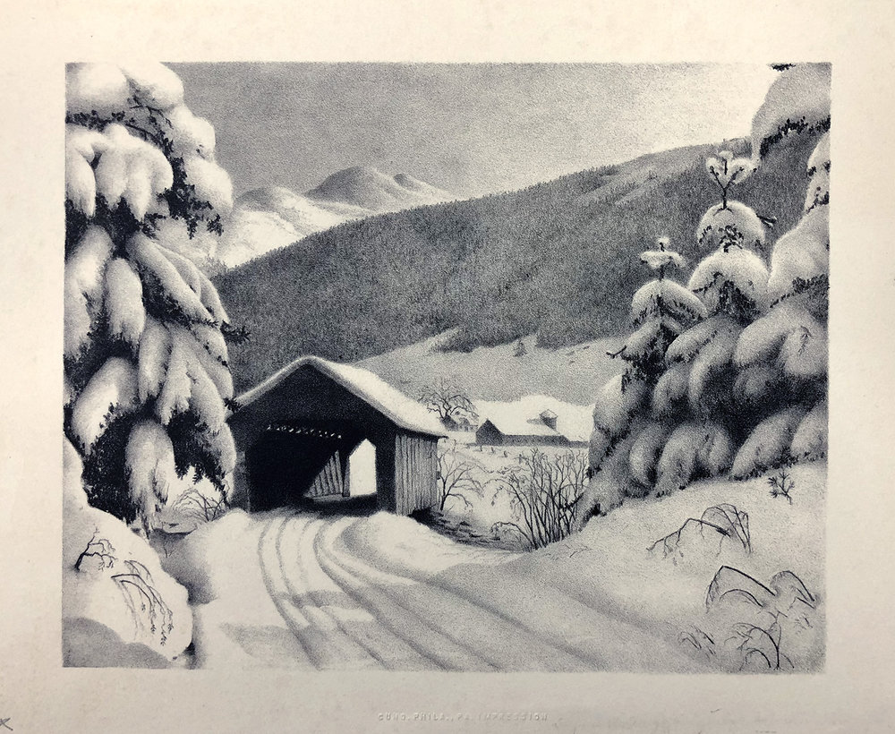 Ella Filmore Lillie - Vermont Snow Scene.jpg