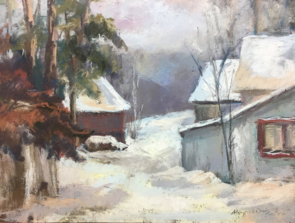 Mary Ann Davis - Waycross Snow Scene.jpg