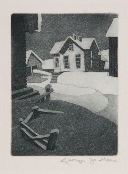 George Jo Mess Snow Drifts 1940.jpg