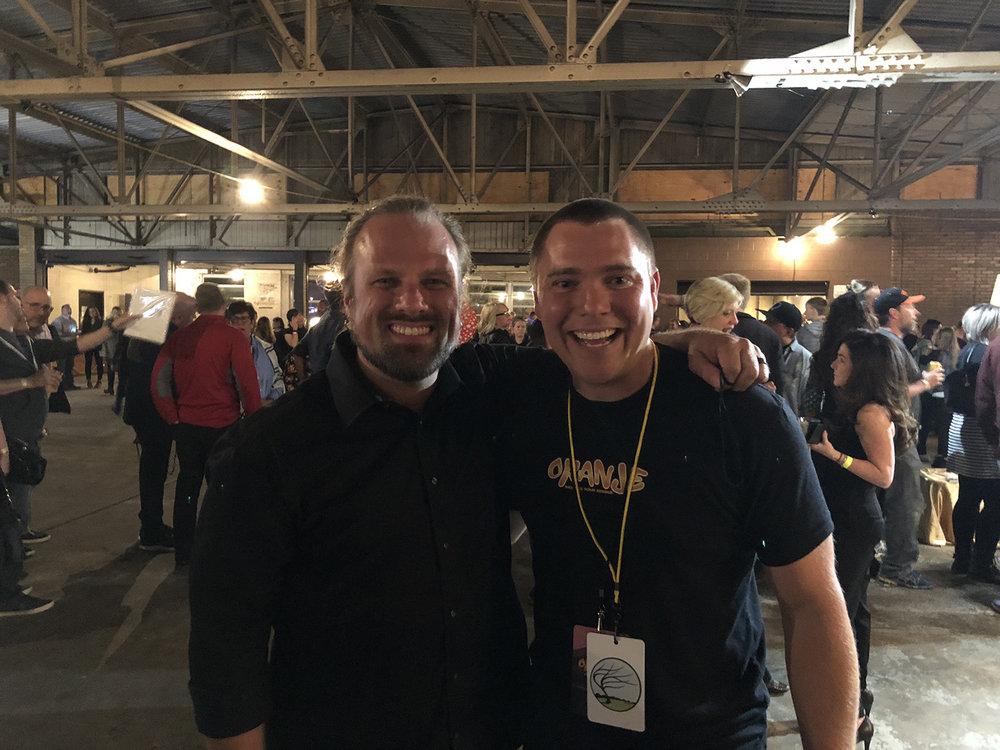 Ryan and I during ORANJE 2018