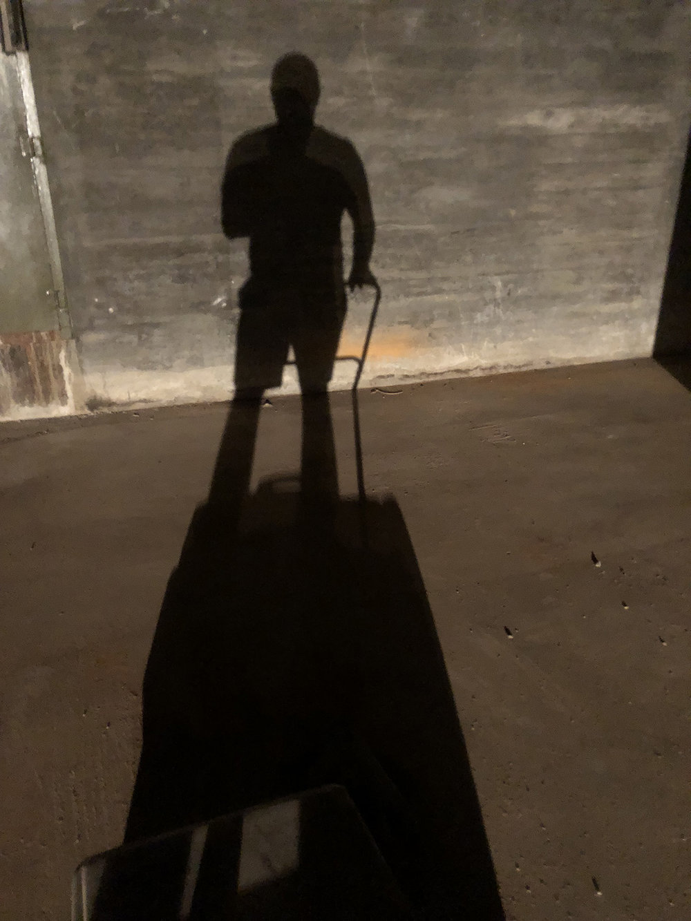 I personally swept every inch of the venue using this industrial push broom machine thing.. It was surprisingly relaxing and reminded me of being a kid sweeping out our barns on the farm.
