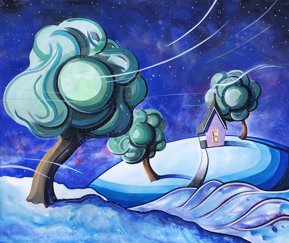 Early Snow 28x32 - Justin Vining(for web).jpg