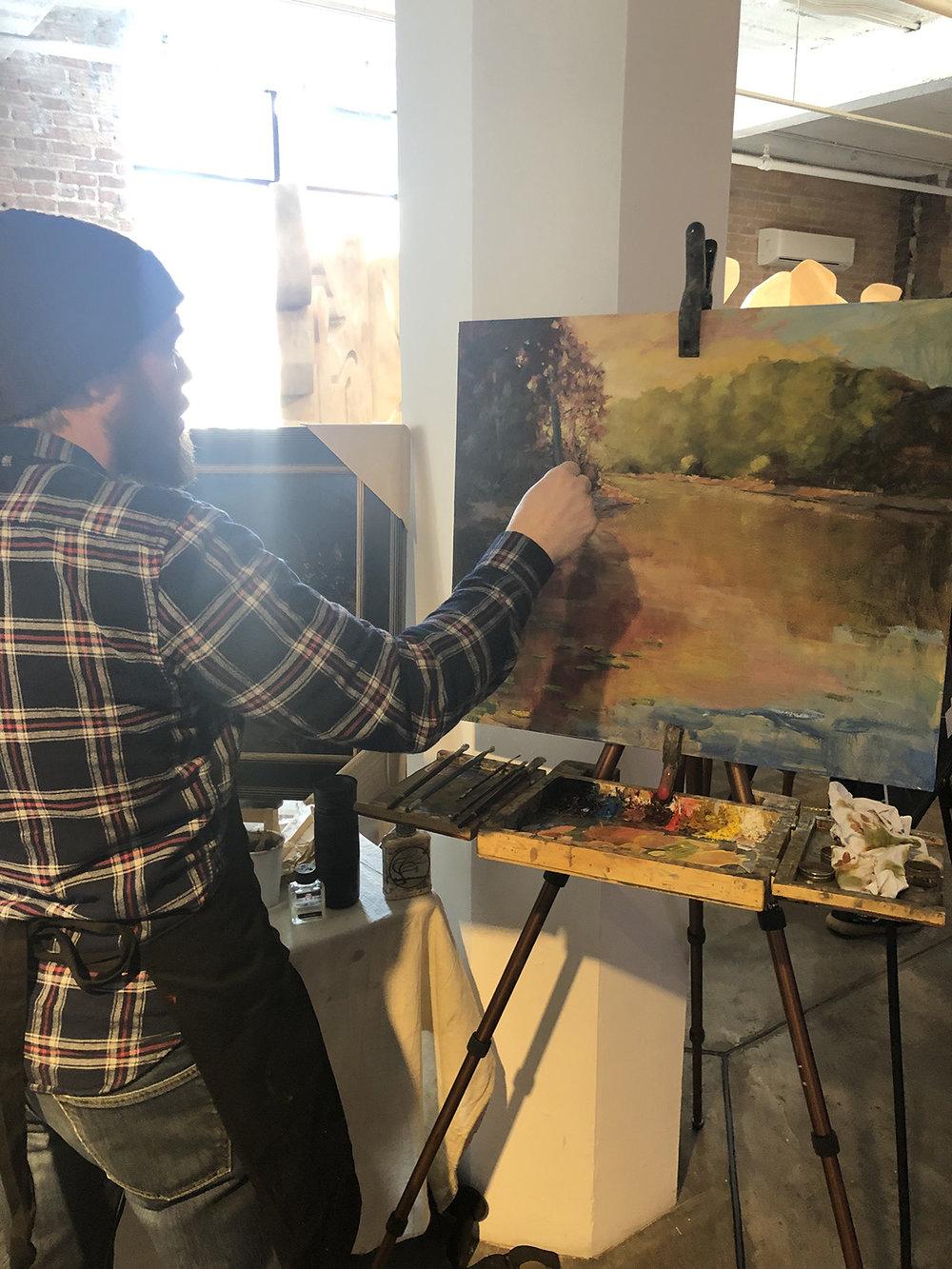 Justin Vining Royal Talens Blick Illinois High School Art Exhibition 02.jpg