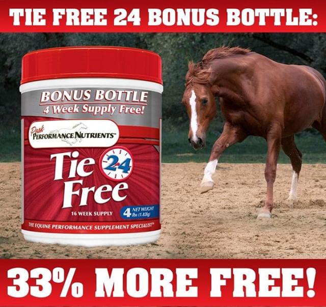 Tie Free Bonus Bottle Available!