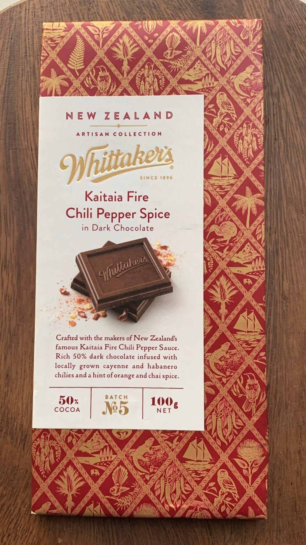Whittaker's - Dry Heat, Lightly spiced, orange