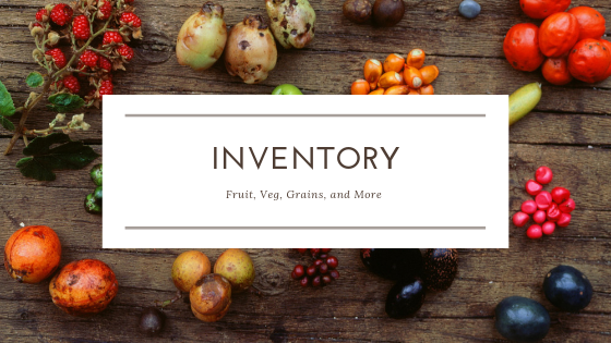 Inventory templates - Manage your inventory and learn what you have, what you need, and what you need to push.