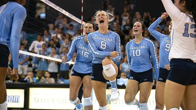 Going through these one more time and I just realized that I really miss photographing you :) You are an inspiration as a student, an athlete, a leader and a friend. Thank you so much for being such a great person! . . . . #sportsphotography #collegevolleyball #ncaavolleyball #carolinavolleyball #gdtbath #sportphoto #inspiration #decisivemoment #ncaa #volleyball