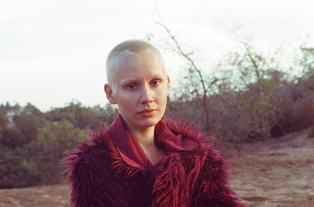 @anna.christensen 1/3—————————————— #model #film #cinestill800 #35mm #losangeles #elysian