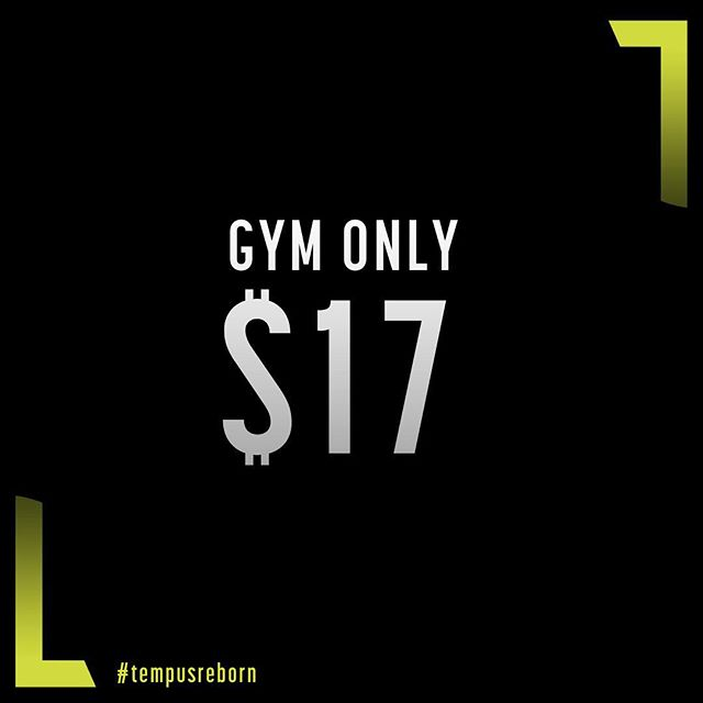The wait is over.. Introducing our BRAND NEW memberships.. GYM + ULTIMATE.  GYM ONLY - Now for a limited time only get full 24/7 access to our state of the art gym from just $17pw.  ULTIMATE - We have invested in INCREDIBLE new fitness programs to bring you ULTIMATE. Over 35 specially devised classes available each week to make you fitter, faster & stronger. First 50 memberships available for just $29pw.  GET IN QUICK.. Head to tempusgym.com.au to join or hit the link in our bio.  The ultimate you is just around the corner.  #TempusReborn