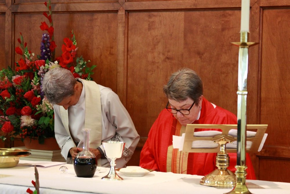 The Liturgy of the Table - Offertory & Eucharistic Prayer