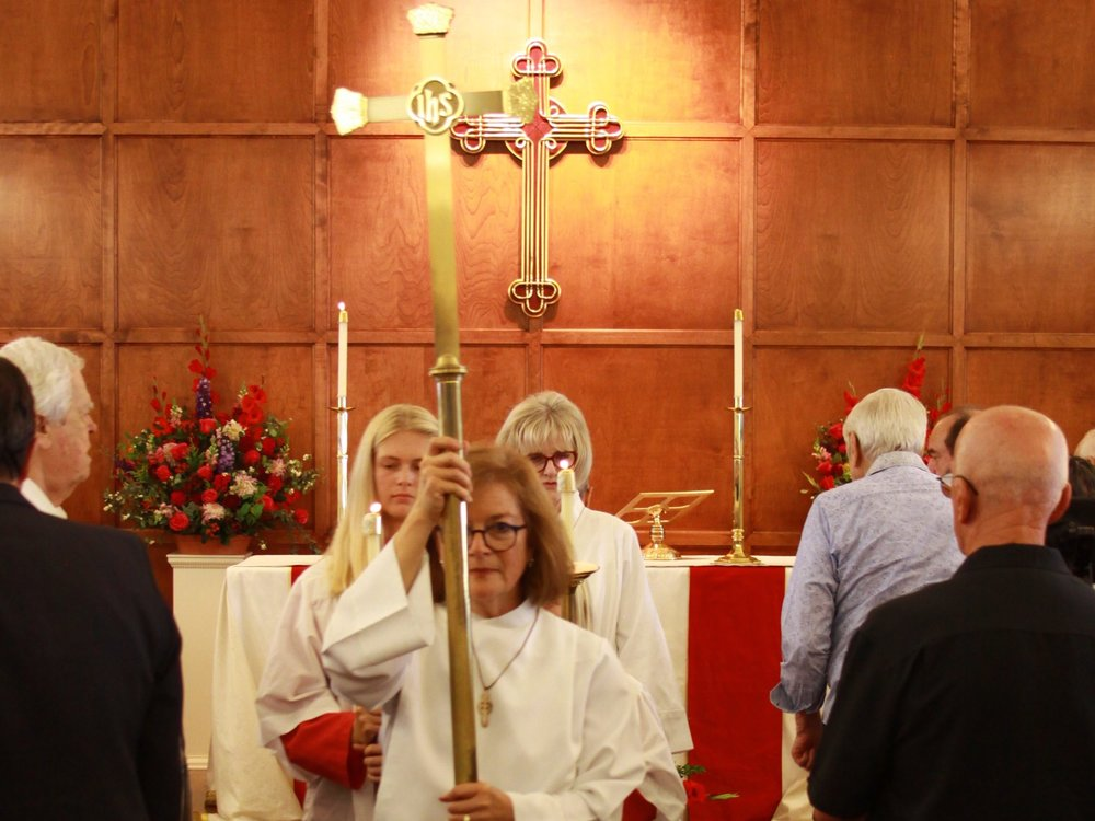 After Communion - Giving Thanks & Dismissal