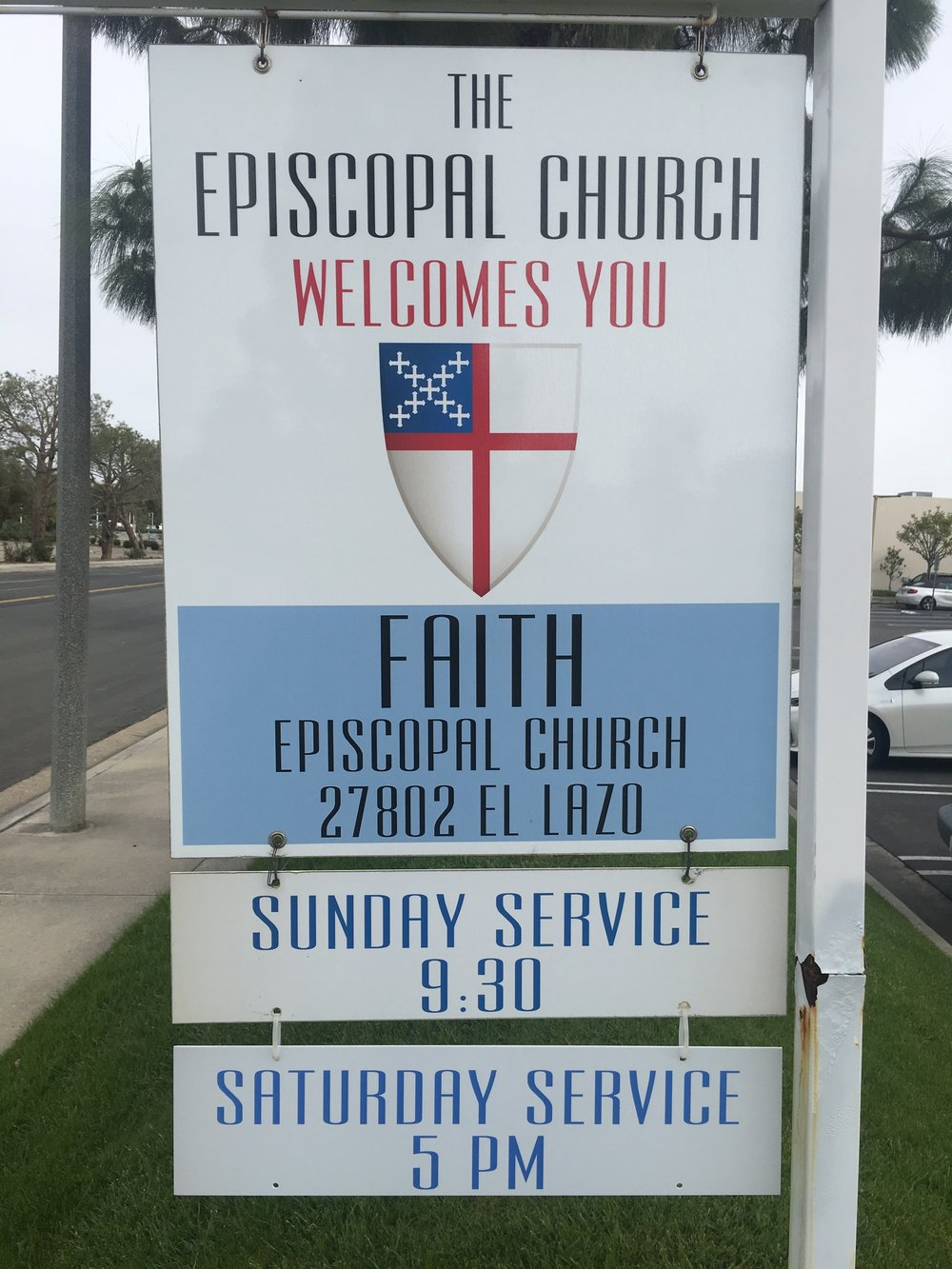 Faith's Location - Address: 27802 El LazoLaguna Niguel, CA 92677Phone: (949) 448-8114Disabled parking availableBuilding is fully accessible