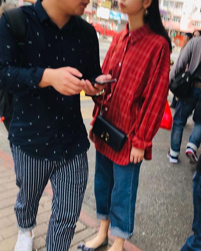 Two strangers in Sham Shui Po