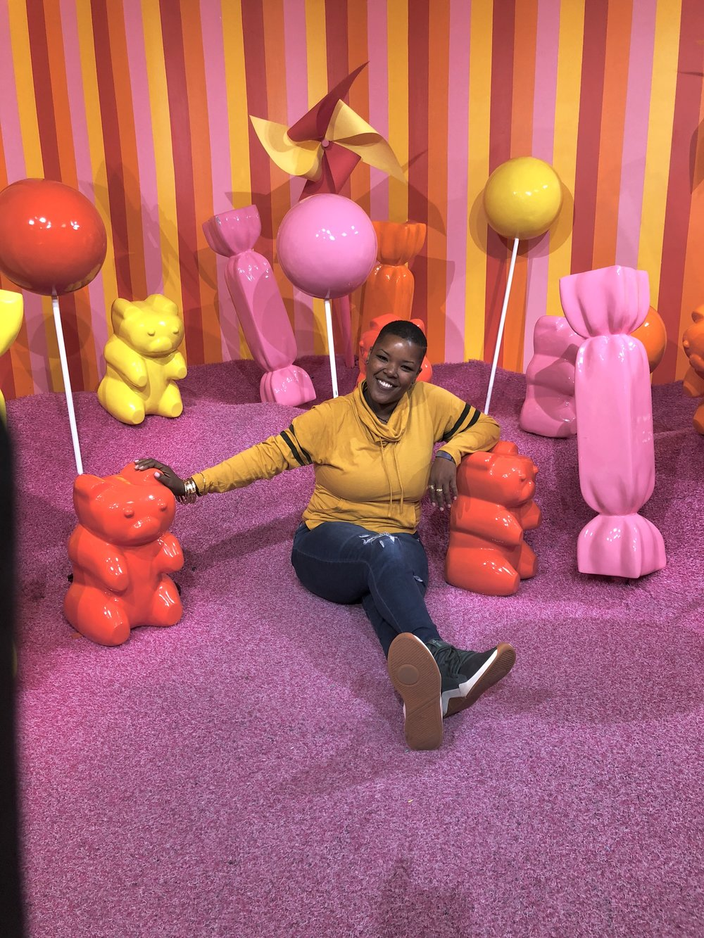 Yielding | Yearning | Yelling | Yolk | Yellow is bright | Yellow is light | Living . in . The . Yellow | Museum of Ice Cream, 2018 | #StayLIT