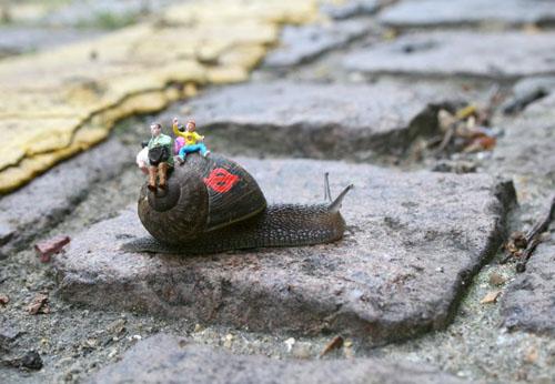 Slinkachu, Little People