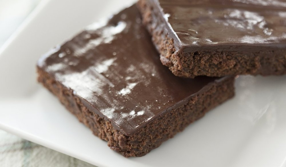 Brownies/Bars - chocolate ganache brownie