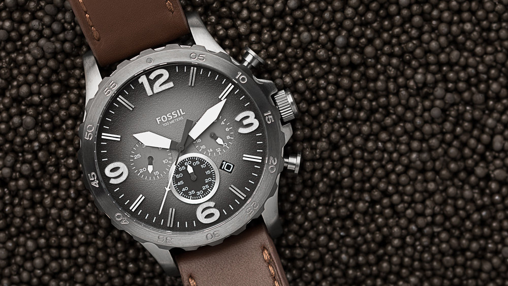 The final image for the Fossil watch