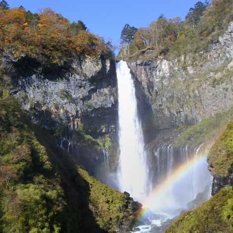 nikko kegon waterfall nature japan