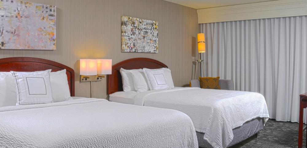"Kings, Queens, Doubles at Courtyard Marriott Tenderfoot - Visit here to book and make sure to get the ""Leftover Salmon"" group rate of $105 night."
