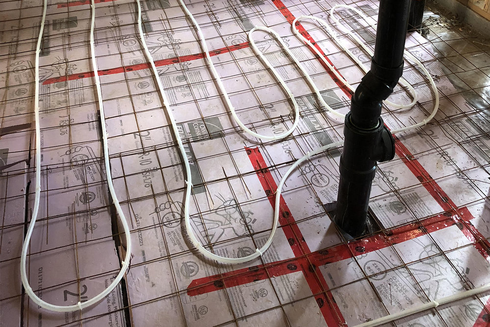 IN FLOOR HEATING & BOILER INSTALLATIONS - Hydronic in-floor heating is one of our specialties. We can service your system today or call us to learn more about system installations. We also service and install tankless water heater systems.