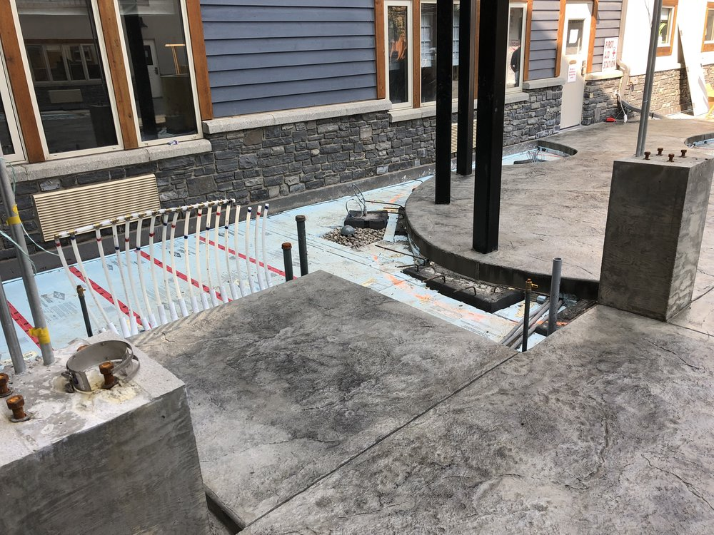 SNOW MELT SYSTEMS & IN-SLAB HEATING - Keep your patio, courtyard, or driveway free of ice and snow! We service and install hydronic snow-melt and in-slab heating systems.