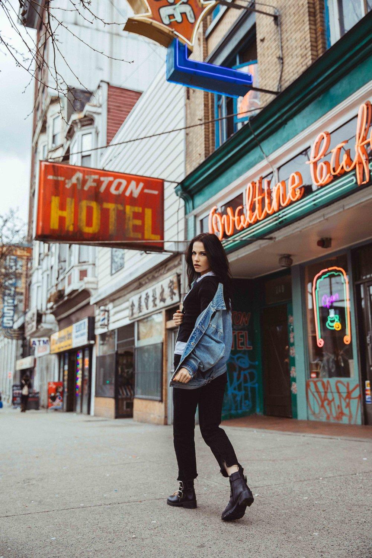 Maddie  of Key Models- Styled by Athina Abraham