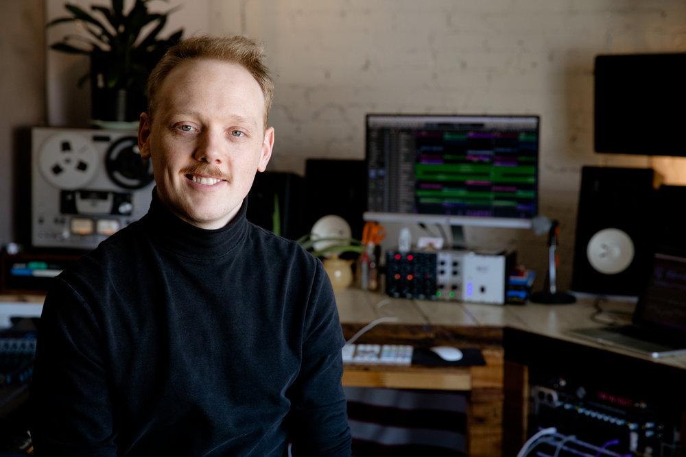 Recording Engineer  Jordaniel Bennett  of The Space Studios