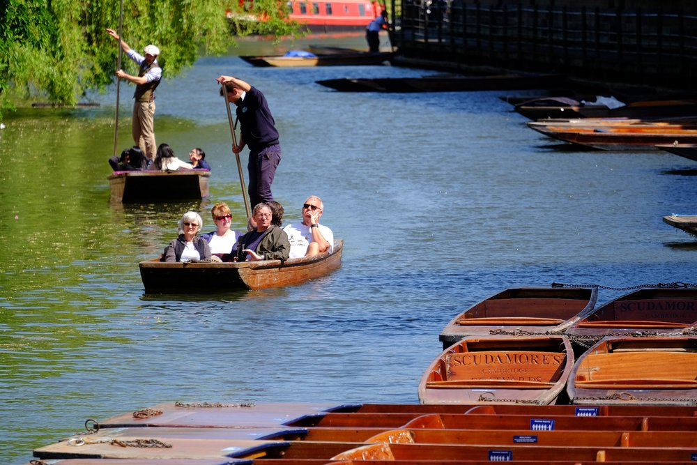 Experience - Visitor experience is an important consideration for ensuring Cambridge remains a world-class destination.