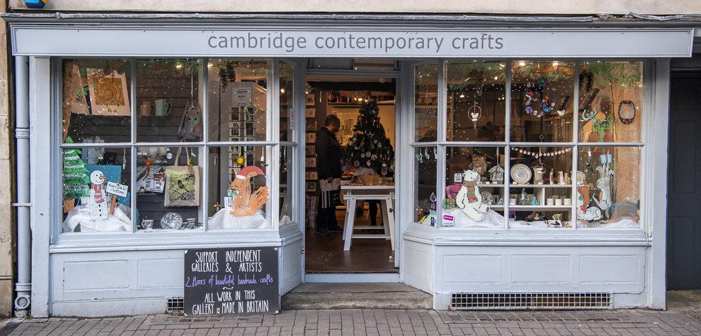 Cambridge Contemporary Crafts - 2018 Winner
