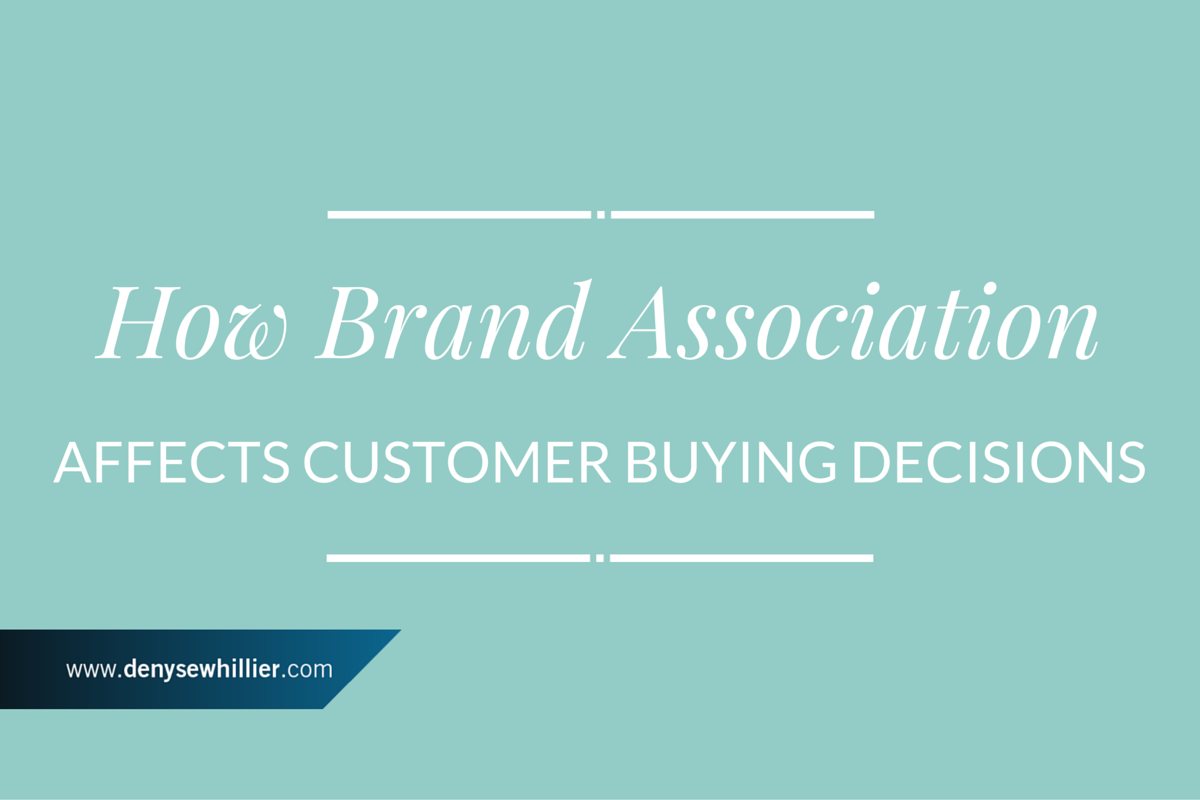 How Brand Association Affects Customer Buying Decisions