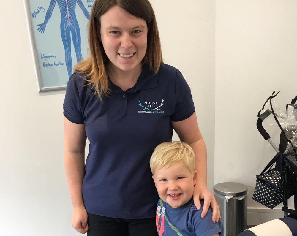 """I love coming to see the back doctor"" - ""I love coming to see the back doctor like mummy and daddy do. The adjustments make me strong""- ALFIE"
