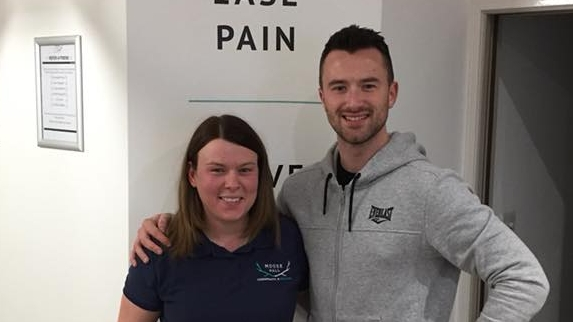 """I can't recommend Sam and the team enough."" - ""I've been going to Moose Hall for chiropractic treatment for 5 months now and there's not a headache in sight! I put my headaches down to dehydration and had no idea that having my neck adjusted could help so much It's helping to keep my back in check too. It's so important to me to remain fit and healthy. I can't recommend Sam and the team enough.""- JOE"