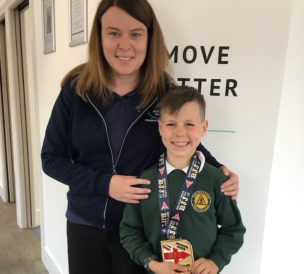 """""""he loves going to moose hall!"""" - """"Sam's done an amazing job ensuring Giorgio's functioning at his best for world level BJJ (Brazilian Jiu Jitsu). Regular treatments have meant 'little niggles' are resolved quickly. Best of all, he loves going to Moose Hall! Sam makes him feel very relaxed and he enjoys learning about how his body works.""""- GIORGIO"""